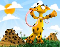 Anteater - 3D contest