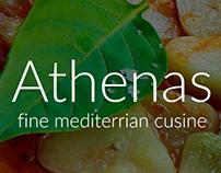 Athenas Greek Grill iOS App
