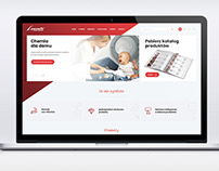 Lucente / web design / katalog / rollup / ulotka