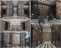 Hotel Reception and Lounges in KSA