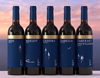 Memories of the Sea wine packaging