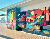 Mural Dubai