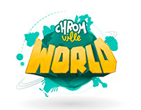 Animación logo Chromville World