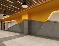 Fitness Center & Spa  Interior Design 3