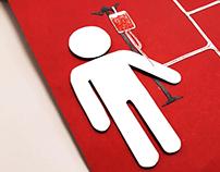 Pôster - Dia Mundial do Doador de Sangue