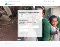 Donation Page - Nonprofit WordPress Theme