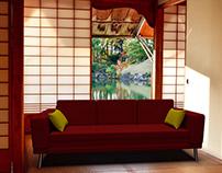 3D sofa #1