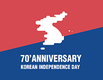 70 Anniversary of Korean independence day