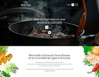 Landing Page Cocina Peruana