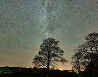 West Burton at night