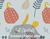 FALL ESSENTIALS SEAMLESS PATTERN COLLECTION