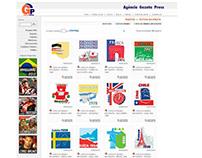 Criação de selos comemorativos de cada Copa do Mundo