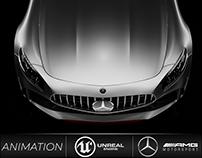 Mercedes GTR Animation UE4