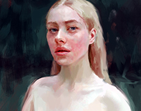 Pale portrait