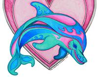 Dolphin | Rainbow Menagerie