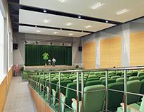 Дизайн интерьера актового зала