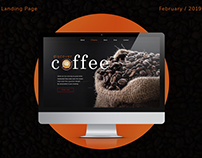 Do you like coffee? Landing Page
