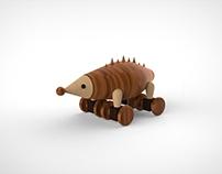 Toy Design-Little Hedgehog