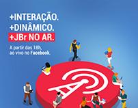 Anúncio JBr. NO AR