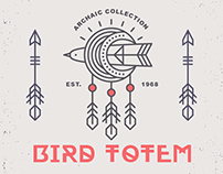 Bird Totem: Tribal Logo Design