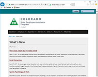 CO State Employee Assistance Program Site Improvements
