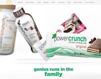 Power Crunch Website Redesign