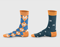 Merkle Leadership Meeting Socks