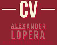 CV Alex Lopera