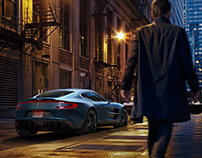 cgi / Aston Martin One-77 / Chicago