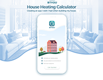BTYOU House Heating Calculator App