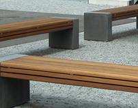 Betonbank PER | Concrete Bench PER