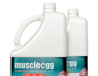 MuscleEgg Label Re-Design