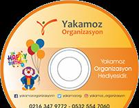 Yakamoz Organizasyon CD Tasarımı