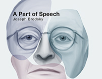 "Cover Design: Joseph Brodsky ""A Part of Speech"""