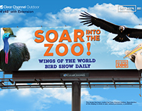 El Paso Zoo Billboard