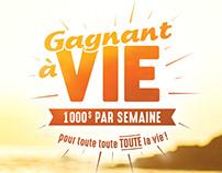 Loto-Québec - Gagnant à vie - Cri agence