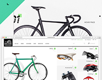 Bike Store - e-commerce website