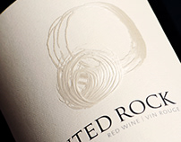 Painted Rock Wine Packaging & Logo Design