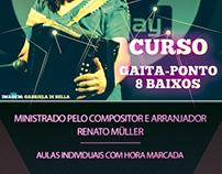 Flyer para Fundação Ecarta em Porto Alegre.