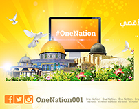 Banners for OneNation Page on Facebook