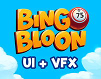 Bingo Bloon UI/VFX