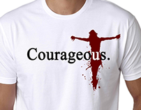 PRINT: Courage Graphic Shirt