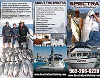 Spectra Sportfishing Tri-Fold Brochure - Graphic Design