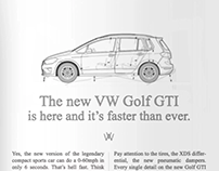 VW GTI Font . Video de Presentación de Acción