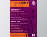 Global Music Film Festival Goethe Institut Jordanien
