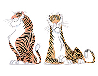 TIGERS SKETCHES