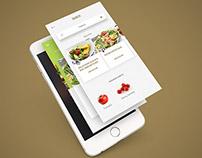 UI/UX design for 'FoodTalk' ios app