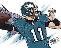 Carson Wentz (Fly Eagles Fly)