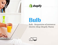 Bulb Responsive eCommerce Electric Free Shopify theme