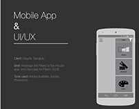 Mobile app & UI/UX, user task flow